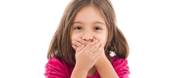 У годовалого ребенка запах изо рта