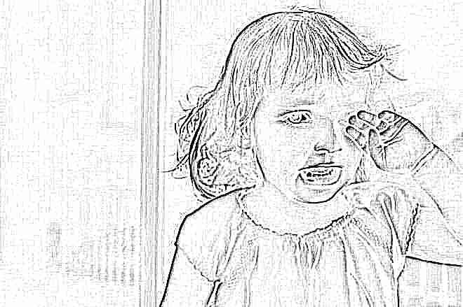Истеричный плач у ребенка 2 года