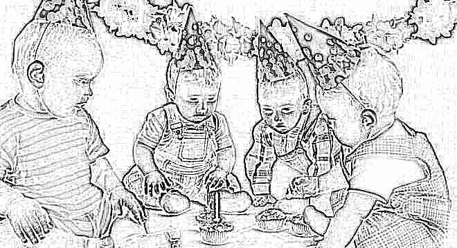 Приготовить день рождения ребенка 3 года
