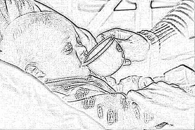 Лечим понос у ребенка