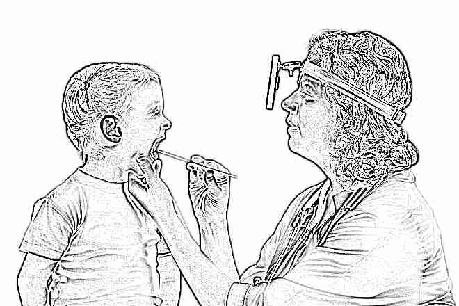 Что такое белые пятна в горле ребенка температуры нет