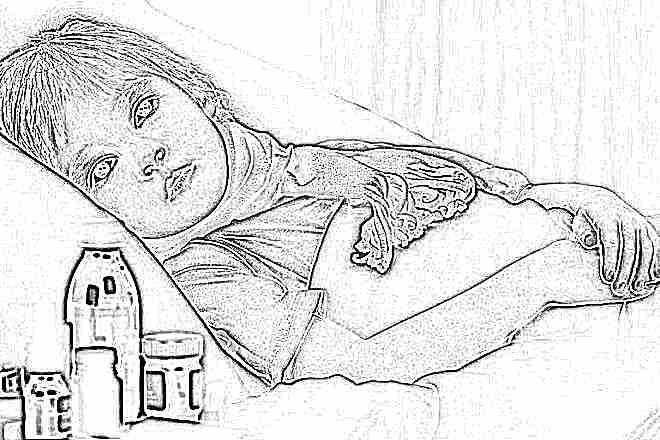 Что делать если у ребенка воспалилось горло и температура