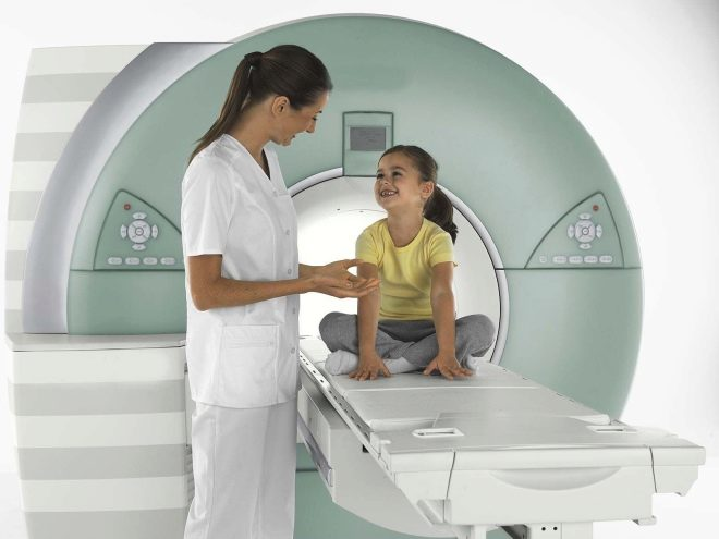 Как детям делают мрт головного мозга