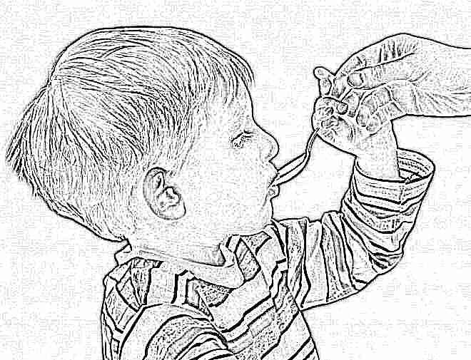 Масло черного тмина ребенку 3 года