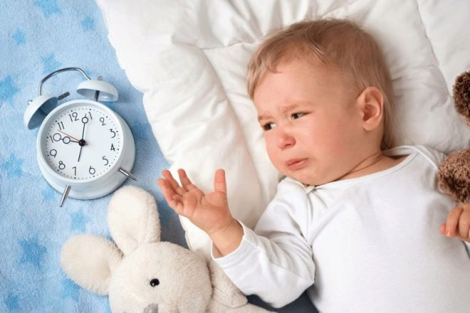 Красные пятна на спине ребенка и температура